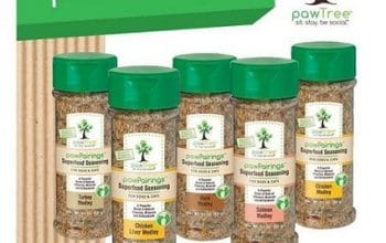 FREE pawTree pawPairings Pet Food Seasoning Samples!