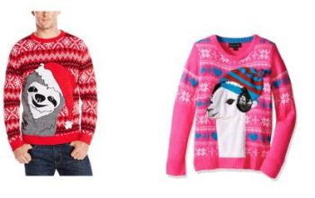 Amazon: Up to 60% off Festive Holiday Sweaters & More!