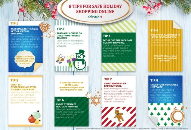 Shop Safely This Holiday Season: Kaspersky Lab Core ...