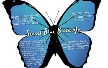 FREE Secret Butterfly Kindness Cards!