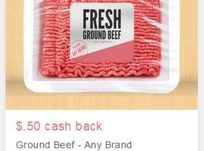 Ibotta: $0.50 Ground Beef (Any Brand) Rebate!