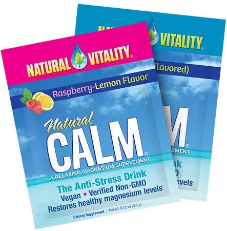 FREE Natural Vitality Magnesium Supplement Sample!