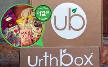$10 Off a Tasty Snack Box From UrthBox!