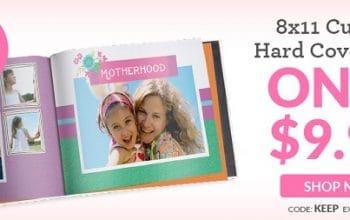 8×11 Custom Hardcover Photo Book Only $9.99! (reg $32.99)