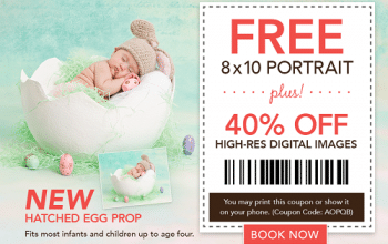 FREE 8×10 Portrait at Picture People!