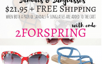 Cents of Style: Sandals & Sunglasses Only $21.95 Shipped!
