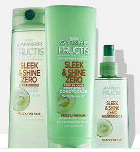 FREE Garnier Fructis Sleek & Shine Samples