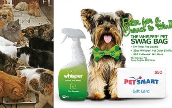 Whisper Pet Charity Giveaway (ends 4/2)