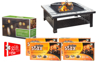 Duraflame Ultimate Backyard Retreat Spring Giveaway (ends 4/9)