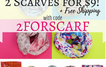 Cents of Style: TWO Scarves Only $9 Shipped! (just $4.50 each)