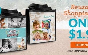 Custom Photo Shopping Bag Only $4.98 Shipped + 40 FREE 4×6 Photo Prints! (reg $11.99) (Ends 3/11)