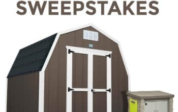 Step2 Discovery Backyard Storage Sweepstakes (ends 4/16)