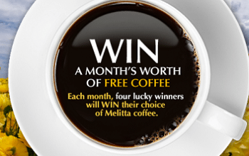 Melitta Win Free Coffee For A Month Sweepstakes (ends 4/30)