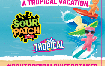 SOUR PATCH Kids Sweepstakes – Enter for a Chance to Win a Tropical Vacation! (Ends 5/31)