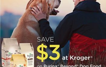 Kroger Offer: Save $3 on Purina® Beyond® Dog Food w/Purchase