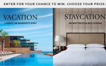 JW Marriott Curated by JW Sweepstakes (ends 5/31)