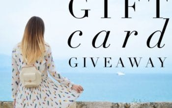 $200 Nordstrom Gift Card Giveaway (Ends 5/8)