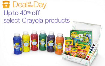 Amazon Deal of the Day: Crayola Sale