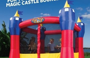 Blast Zone Magic Castle Bounce House Giveaway (ends 5/31)