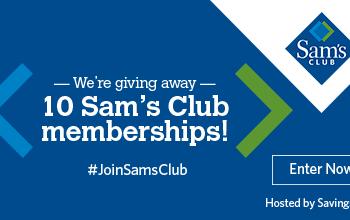 $1000 Sam's Club Membership Giveaway (10 Winners) – Ends 6/2