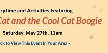 FREE Storytime & Activities at Barnes & Noble on May 27th!