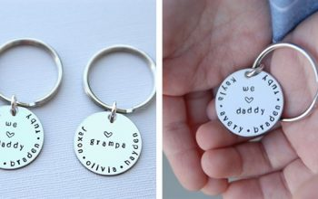 Father's Day Gift Idea: Personalized Keychain only $6.99 (Deal Ends 6/2)