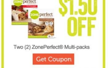 $1.50 off Zone Perfect Nutrition Bars