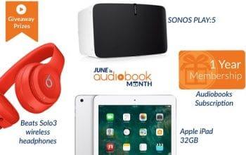 Audiobooks.com Audiobook Month Contest (ends 6/30)