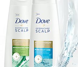 FREE Dove Anti-Dandruff 2-in-1 Sample
