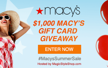 Macy's Summer Weekend Sale +$100 Macy's Gift Card Giveaway (10 Winners) Ends 6/25