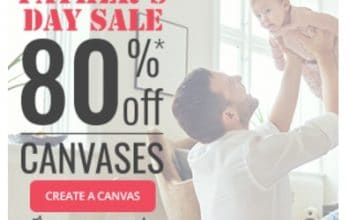 80% OFF All Canvas Sizes