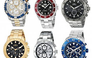 Amazon Deal of the Day: Invicta Watches (great Father's Day gift idea)