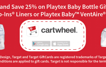 Download Cartwheel and Save 25% on Playtex Baby Bottle Gift Sets