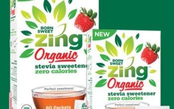 FREE Sample of Born Sweet Zing™ Organic Stevia Sweetener