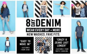Denim Jeans only $9.99 at Crazy 8