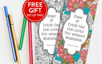 FREE Coloring Bookmarks from In Touch Ministries