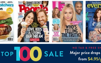 *Ends Today!* DiscountMags TOP 100 Sale: Subscriptions from $4.95/year