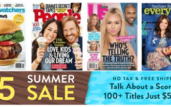 DiscountMags $5 Summer Sale! (Ends 7/10)
