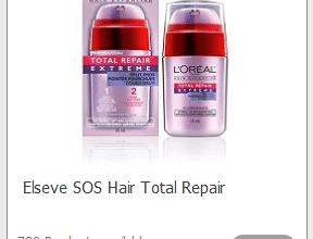 FREE Elseve SOS Hair Total Repair (sign up now!)