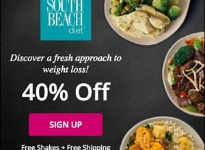 40% OFF the South Beach Diet (Free Shakes + Free Shipping!)