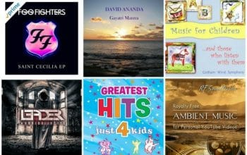 Amazon Daily Free Music for 8/10