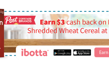 Earn $3 Cash Back on Post® Shredded Wheat Cereal at Walmart