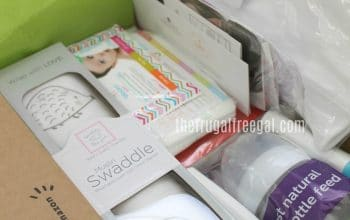 FREE Welcome Box with Items for Parents and Baby