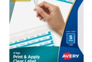 FREE Sample Pack of Avery Printable Dividers