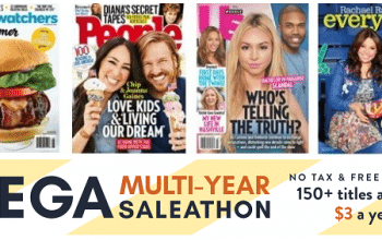 DiscountMags: 150+ Magazines from $3 per Year!