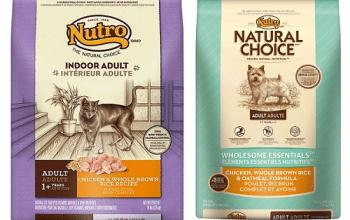 Free Bag of Nutro Dog or Cat Food at PetSmart