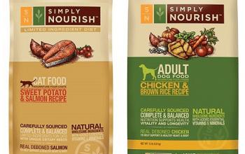 FREE Bag of Simply Nourish Dog or Cat Food at PetSmart