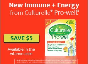 "Culturelle ""The Healthiest You Ever"" Sweepstakes + $5 off Coupon!"