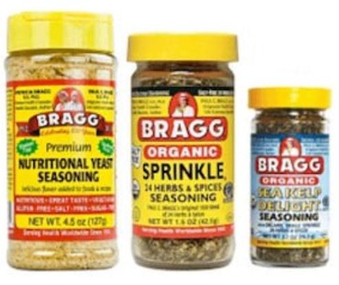 bragg free samples