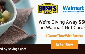 Enter to Win a $50 Walmart Gift Card (10 winners)